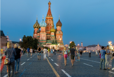 Moskau-Stadt der Romantik
